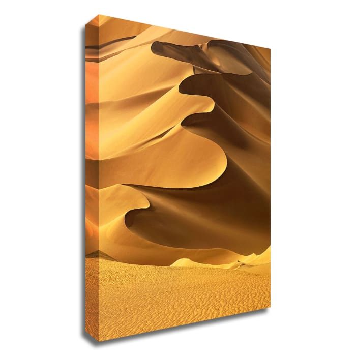 In the Dunes 2 by Design Fabrikken Wrapped Canvas Wall Art
