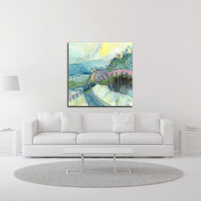 Explore No. 1 by Ann Thompson Nemcosky Wrapped Canvas Wall Art