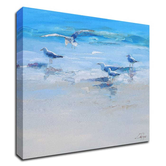 Landing by Craig Trewin Penny Wrapped Canvas Wall Art