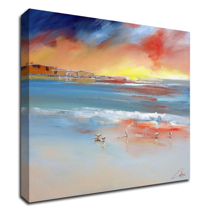 Over the Club by Craig Trewin Penny Wrapped Canvas Wall Art