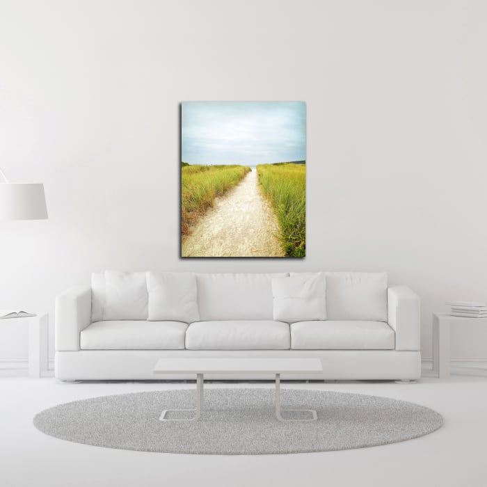Beach Trail by Brooke T. Ryan Wrapped Canvas Wall Art