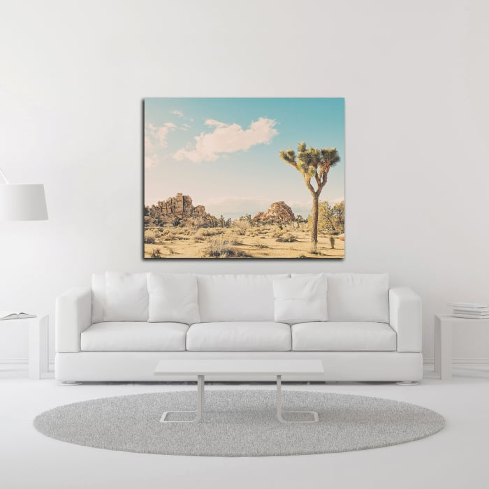 Winter in the Desert No. 3 by Myan Soffia Wrapped Canvas Wall Art