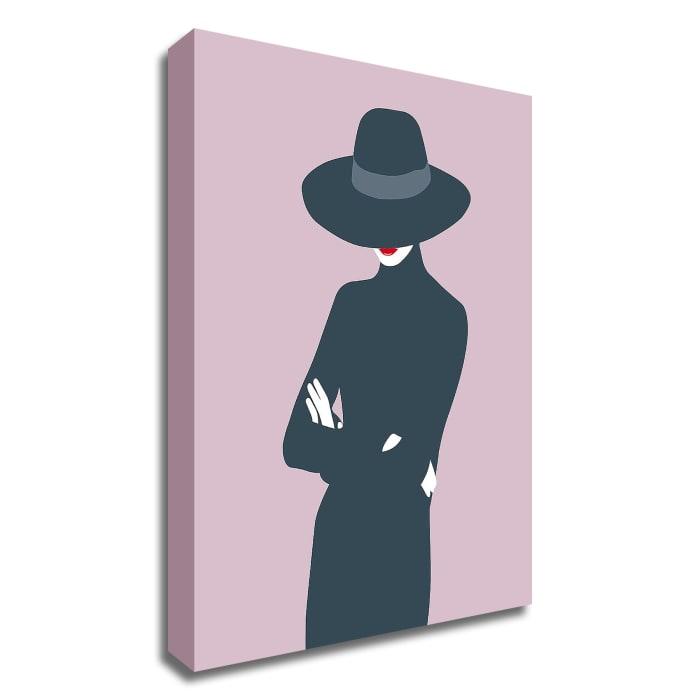 Lady No. 3 by Sean Salvadori Wrapped Canvas Wall Art,