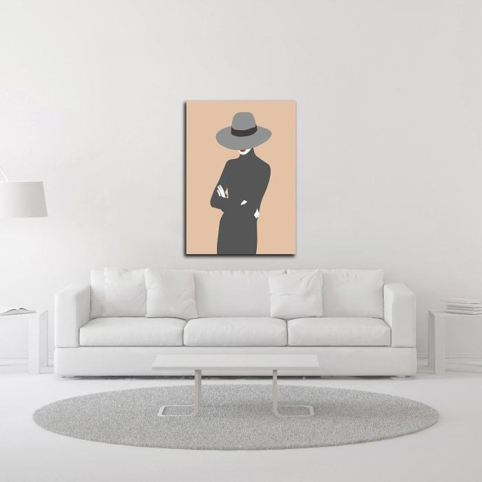 Lady No. 5 by Sean Salvadori Wrapped Canvas Wall Art