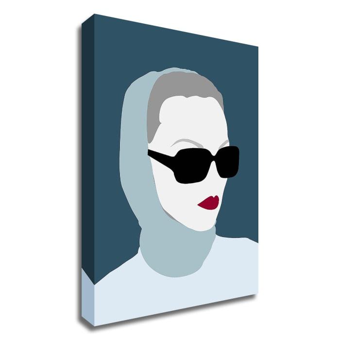 Lady No. 8 by Sean Salvadori Wrapped Canvas Wall Art