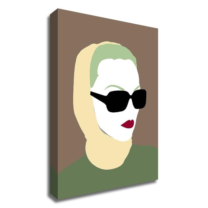 Lady No. 9 by Sean Salvadori Wrapped Canvas Wall Art