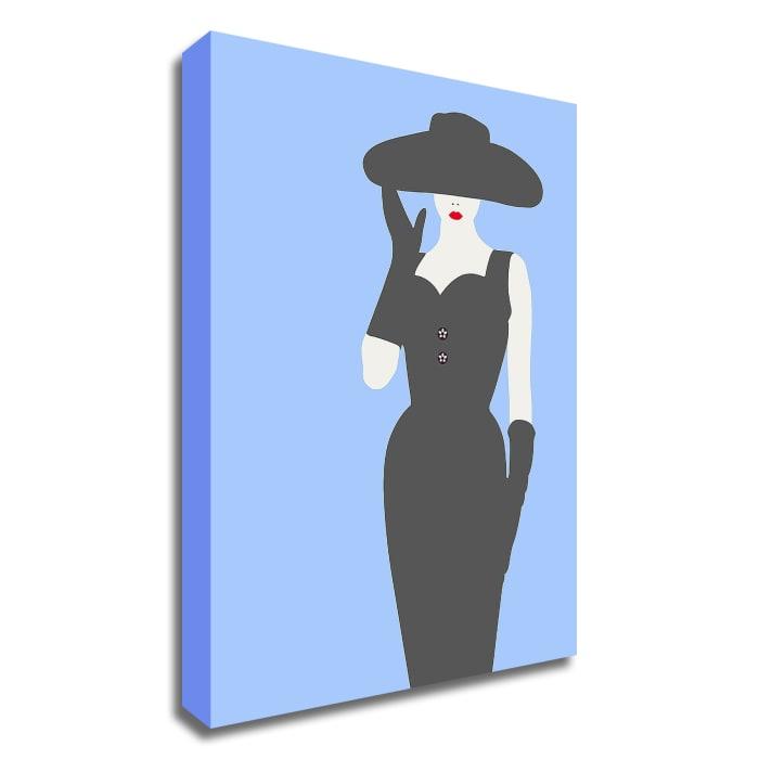 Lady No. 13 by Sean Salvadori Wrapped Canvas Wall Art