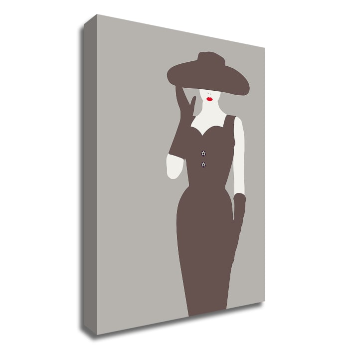 Lady No. 15 by Sean Salvadori Wrapped Canvas Wall Art