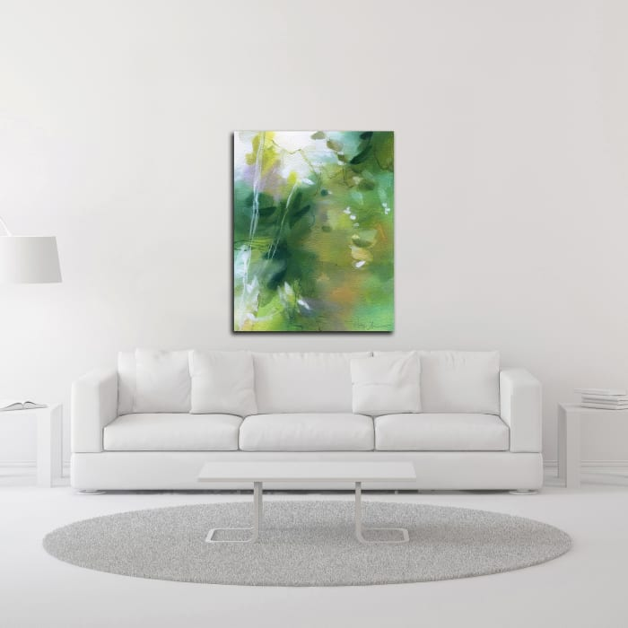 Verdant Shallows I by Elisa Sheehan Wrapped Canvas Wall Art