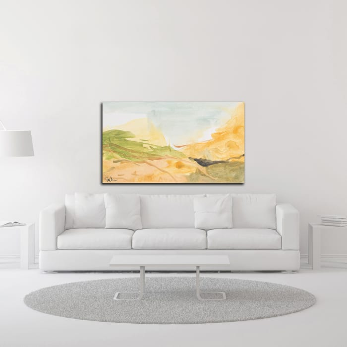 Through the Silence by Jan Weiss Wrapped Canvas Wall Art