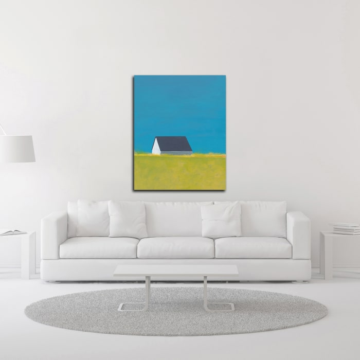 It's a Farm by Jan Weiss Wrapped Canvas Wall Art