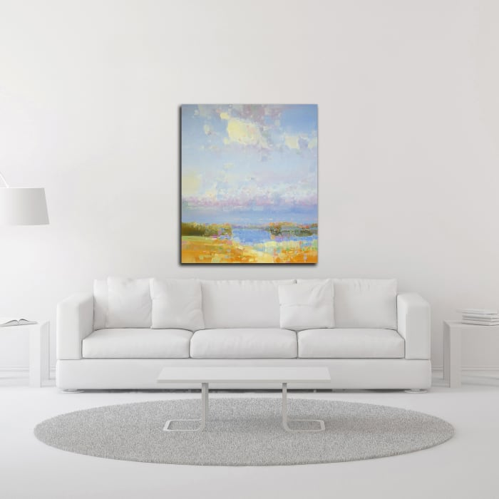 Delight of Morning by Vahe Yeremyan Wrapped Canvas Wall Art