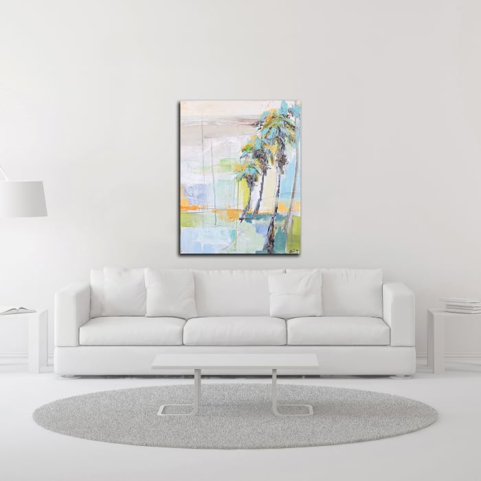 Palm Two by Kym De Los Reyes Wrapped Canvas Wall Art