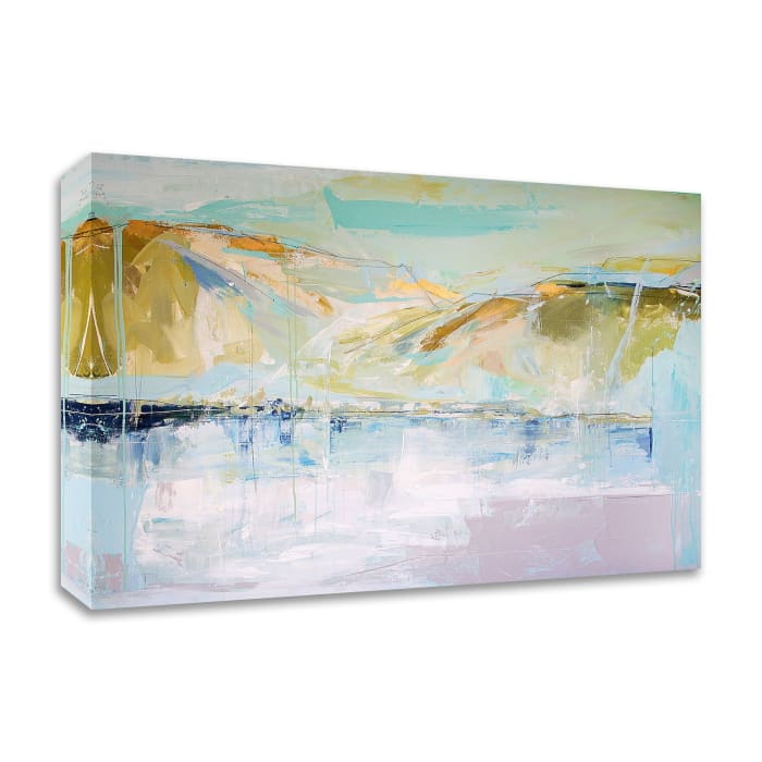 Sun Lake Mountain Air by Kym De Los Reyes Wrapped Canvas Wall Art