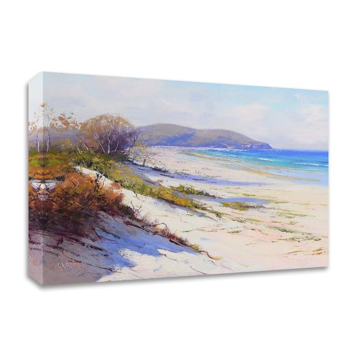 Port Stephans Beach Sands by Graham Gercken Wrapped Canvas Wall Art