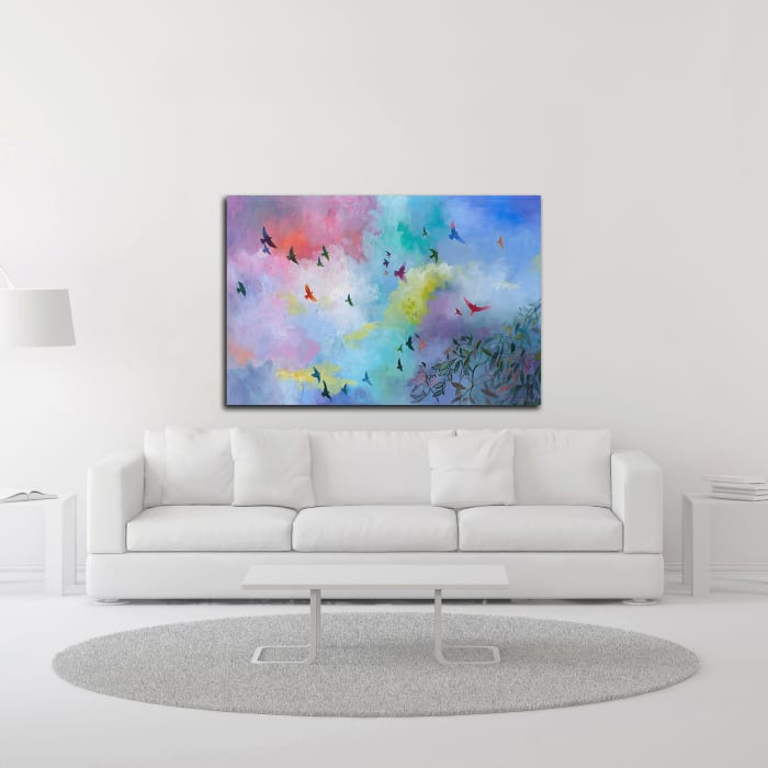 Sky Is the Limit by Julia Hacker Wrapped Canvas Wall Art