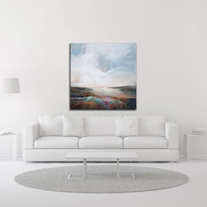 Solitude by Karen Hale Wrapped Canvas Wall Art