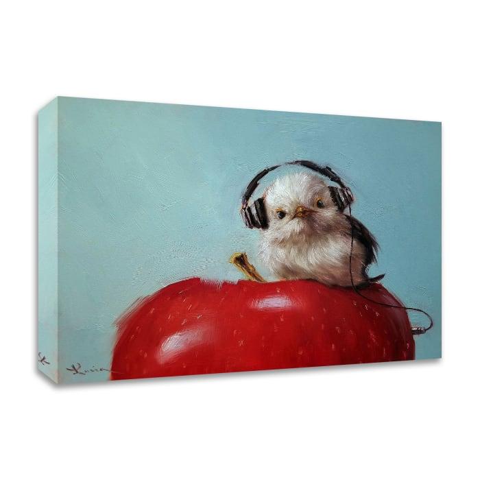 Apple Music by Lucia Heffernan Wrapped Canvas Wall Art