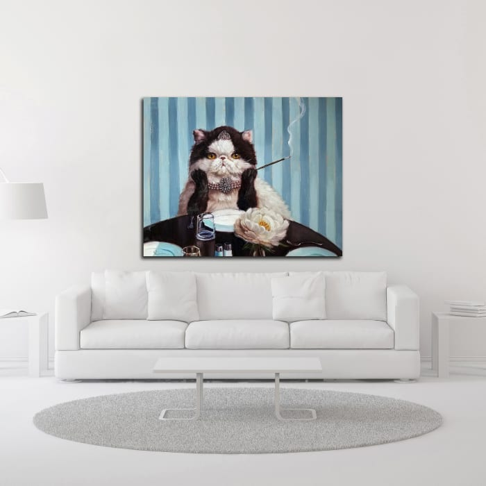 Breakfast at Tiffany's by Lucia Heffernan Wrapped Canvas Wall Art