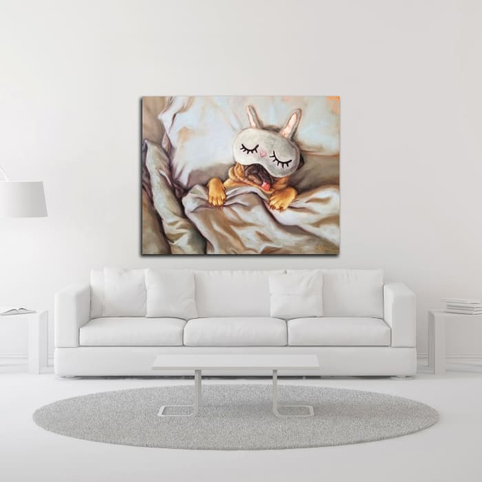 Sleeping Beauty by Lucia Heffernan Wrapped Canvas Wall Art