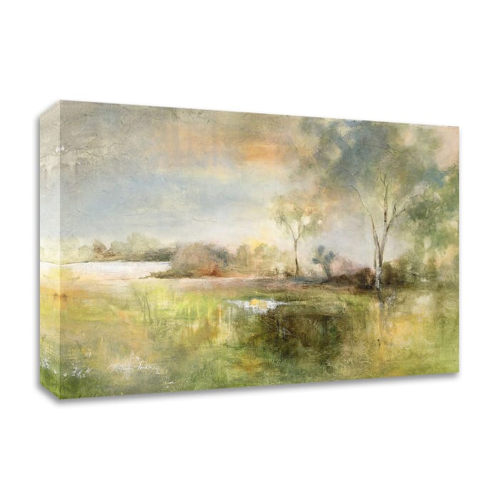 Reflection of June by J Austin Jennings Wrapped Canvas Wall Art