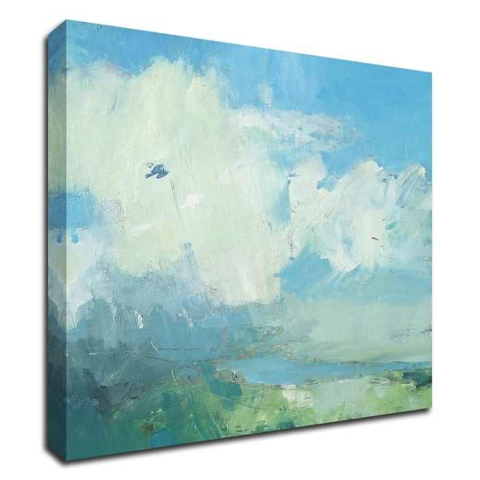 Pale Light by Andrew Kinmont Wrapped Canvas Wall Art