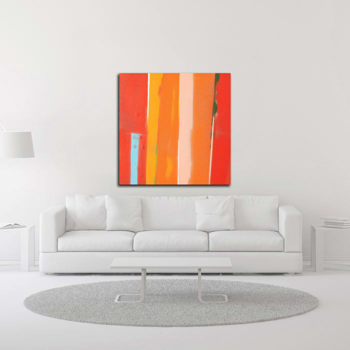Urban Summer 29 by Gill Miller Wrapped Canvas Wall Art