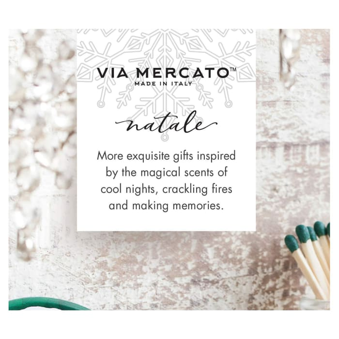 Via Mercato Natale Frosted Forest Petite Reed Diffuser