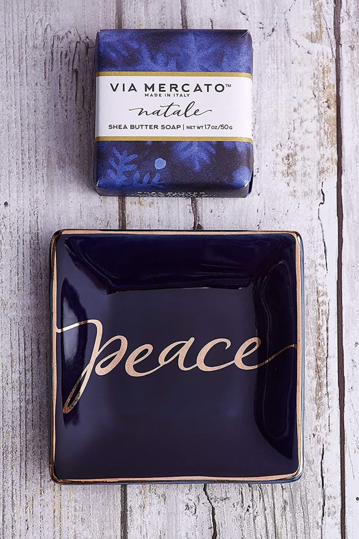 Peace Soap & Trinket Set