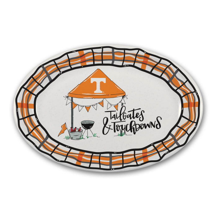 Tennessee Tailgates and Touchdowns Melamine Platter