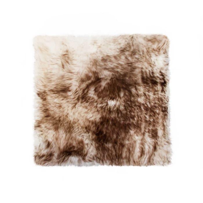 Sheepskin Chocolate Seat Cover