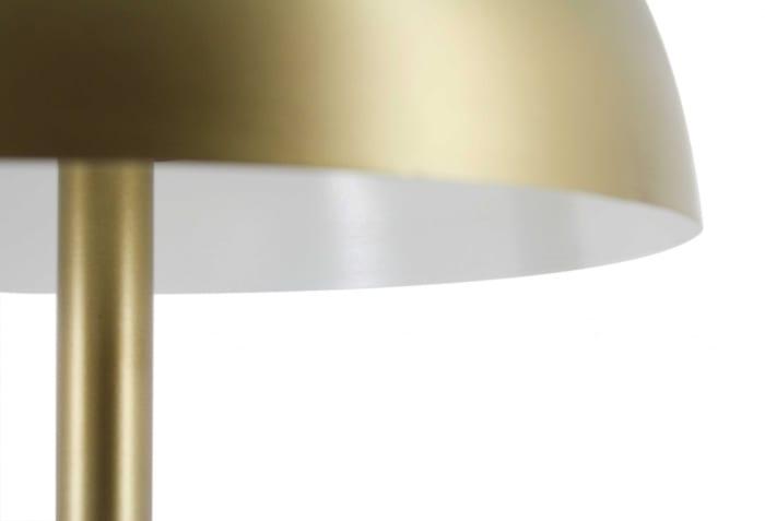 Modern Umbrella Style Antique Brass Table Lamp