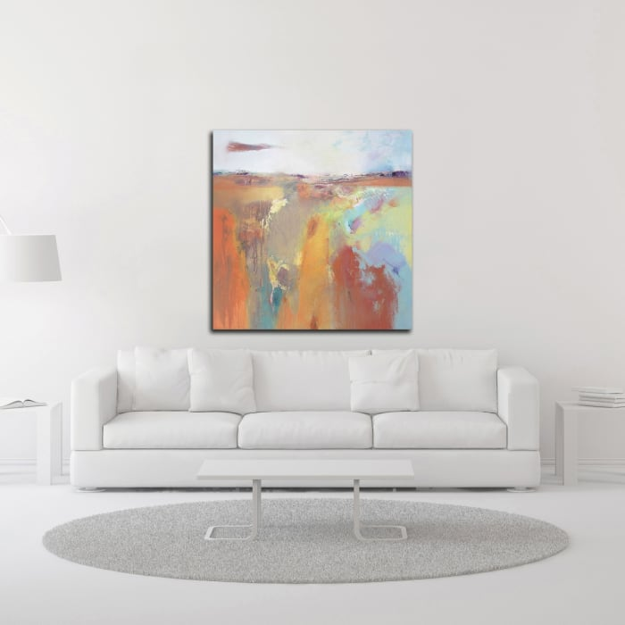 Tangerine Summer by Andrew Kinmont Wrapped Canvas Wall Art
