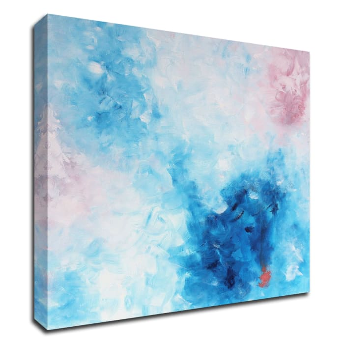 Mod Bloom by KR Moehr Wrapped Canvas Wall Art