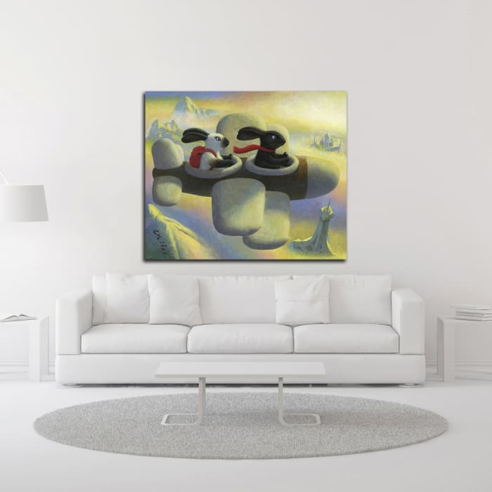 B.N.C.'s Grand Adventure by Chris Miles Wrapped Canvas Wall Art