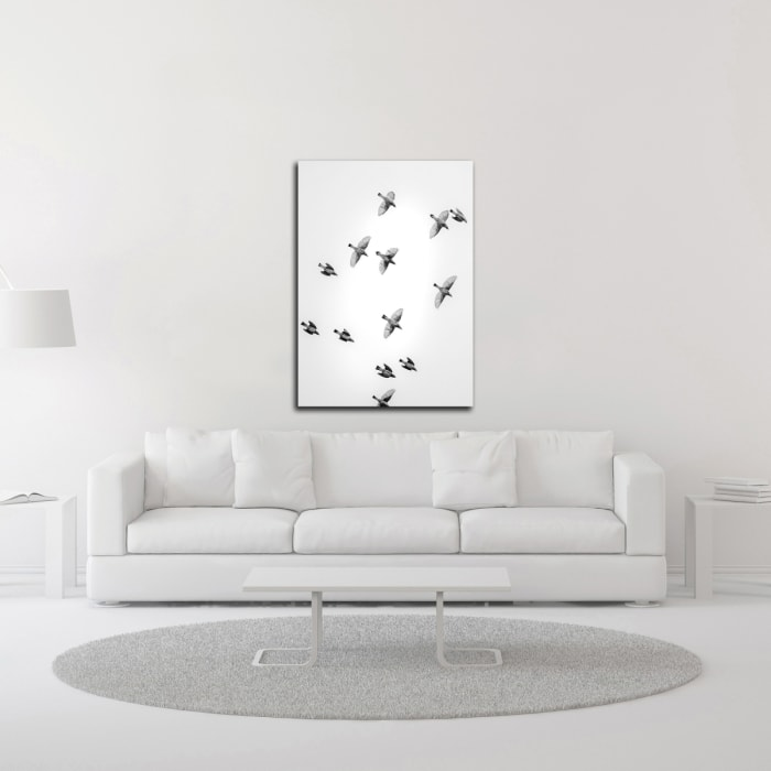 In the Sky 1 by Design Fabrikken Wrapped Canvas Wall Art