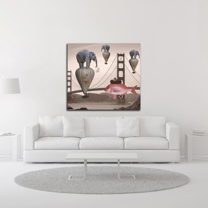 Tea Time by Daniela Nocito Wrapped Canvas Wall Art