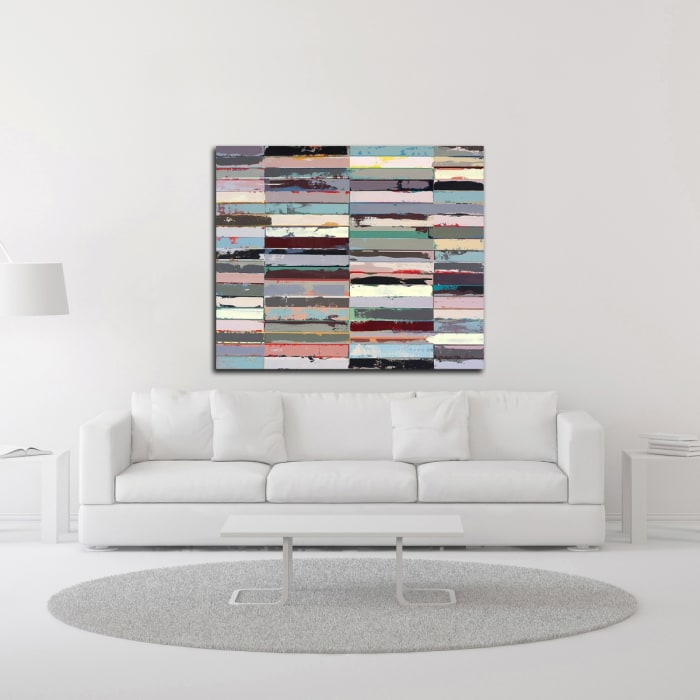 Bed of Roses by Adam Collier Noel Wrapped Canvas Wall Art