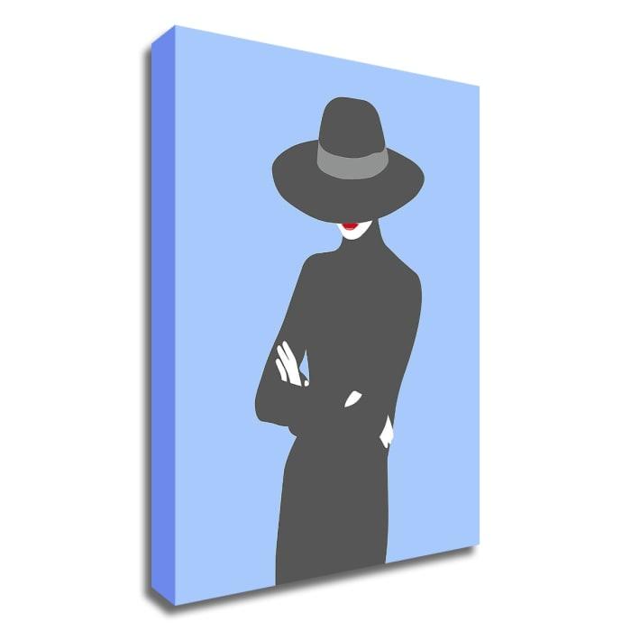 Lady No. 2 by Sean Salvadori Wrapped Canvas Wall Art