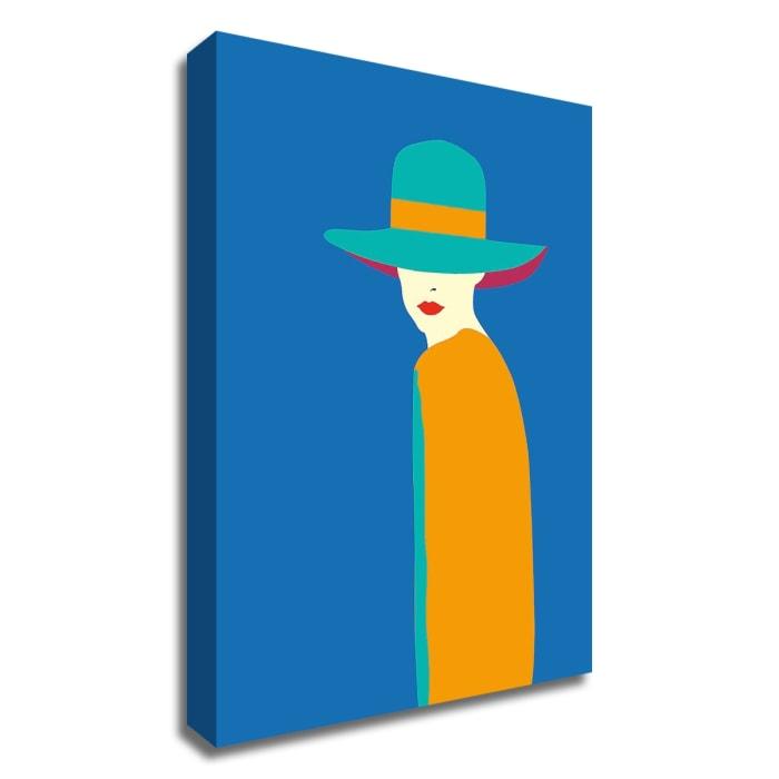 Lady No. 7 by Sean Salvadori Wrapped Canvas Wall Art