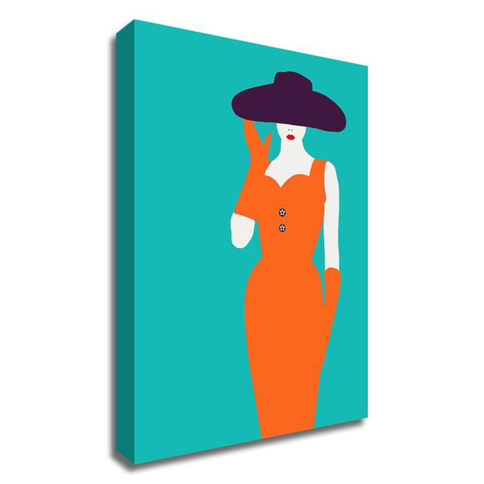 Lady No. 12 by Sean Salvadori Wrapped Canvas Wall Art