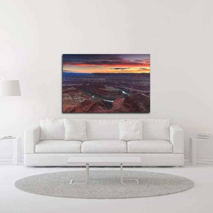 Sunset at Dead Horse by Shawn/Corinne Severn Wrapped Canvas Wall Art
