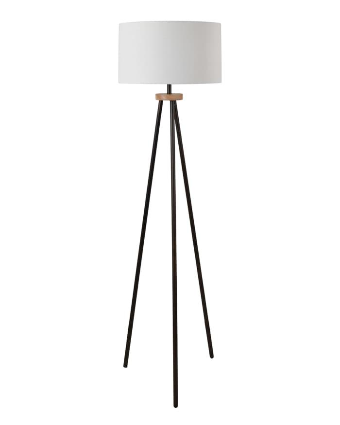 Tegan Modern Tri-Leg Metal Floor Lamp