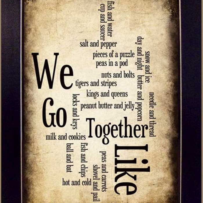 We Go Together I By Susan Ball Printed Wall Art