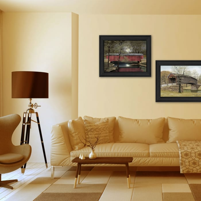 Bridges Collection By Billy Jacobs Framed Wall Art