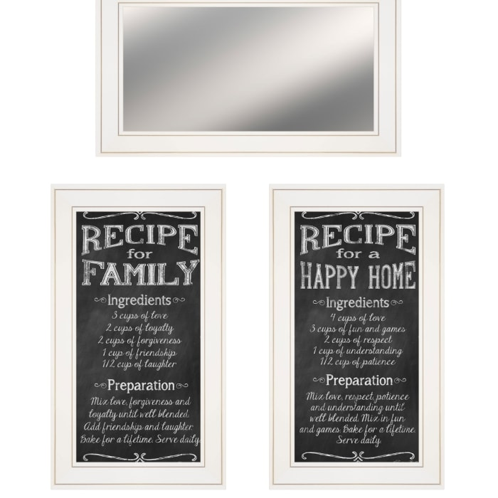 Family Recipe By Pam Britton Framed Wall Art