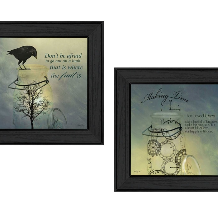 Glass Jars Collection By Robin-Lee Vieira Framed Wall Art
