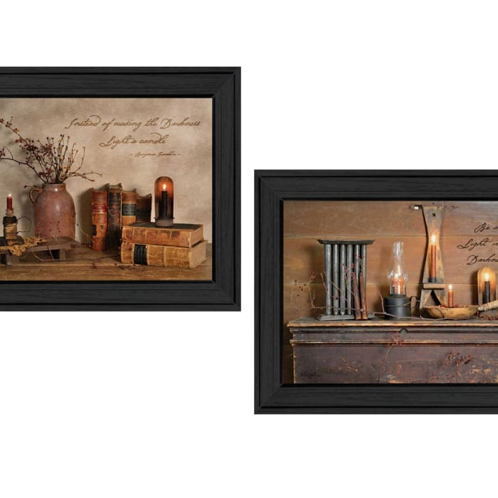 Candles Collection By Billy Jacobs Framed Wall Art