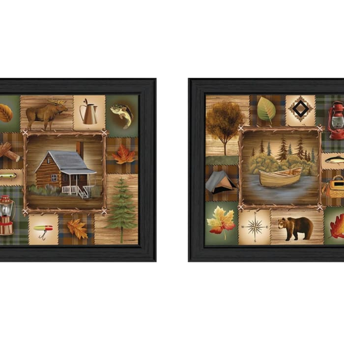 Up North Collection By Ed Wargo Framed Wall Art