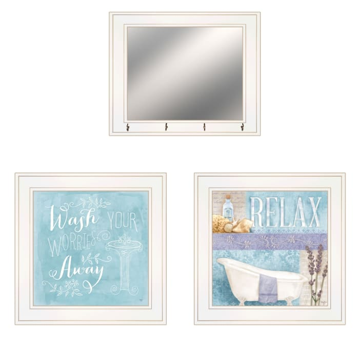 Wash By Mollie B, Ready to Hang Framed Print Framed Wall Art